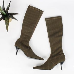 NEW!! Pazzo Tall Stretch Fabric Pull-on Boots